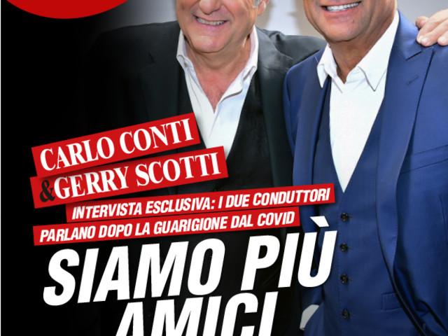 """Gerry Scotti e Carlo Conti raccontano il Covid: """"Neanche una parola a Gabriella..."""""""