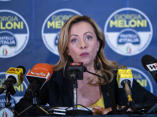 """""""Per collaborare non abbiamo bisogno di poltrone"""", dice Giorgia Meloni"""