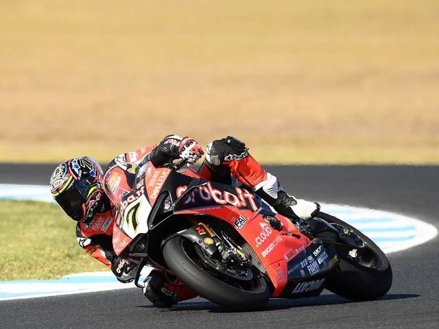 Superbike, test ad Aragon per il team Aruba Ducati