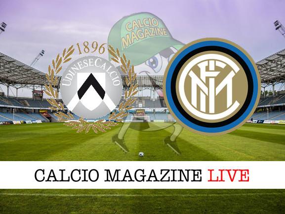 Udinese – Inter: cronaca diretta live, risultato in tempo reale