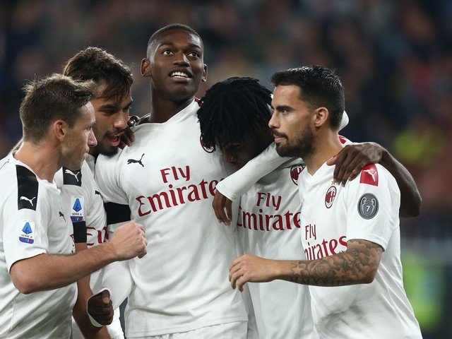 Il Milan passa col Genoa: rossoblu battuti 2-1