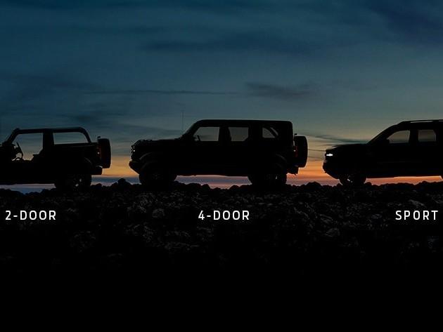 Ford Bronco - Un nuovo teaser annuncia tre varianti di carrozzeria - VIDEO
