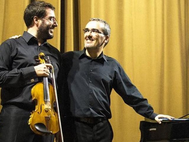 Porto Recanati, al Castello Svevo il concerto per violino e pianoforte del duo Frances-Bernal