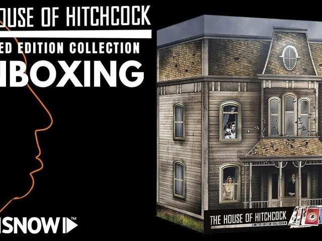 The House of Hitchcock Collection: il nostro unboxing della Limited Edition Blu-Ray [VIDEO]