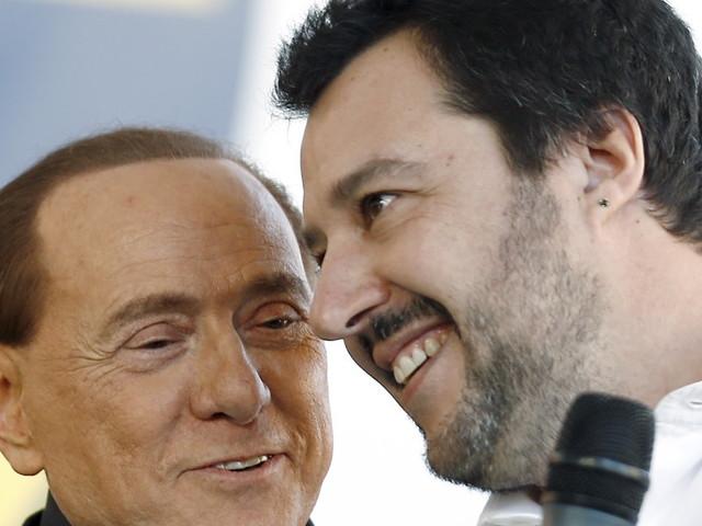 Silvio Berlusconi il moderato e Matteo Salvini il trumpista. Verso un'alleanza difficile
