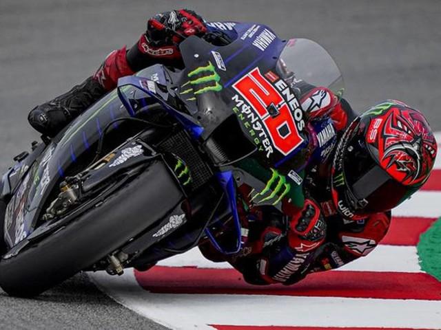 Quartararo in pole position, bene le Ducati con Miller e Zarco. Rossi cade ed è 11°