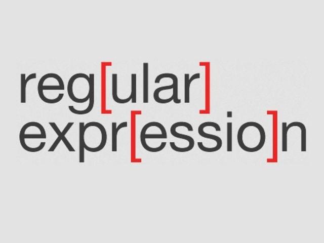 Regular expression o espressioni regolari: cosa sono e come utilizzarle