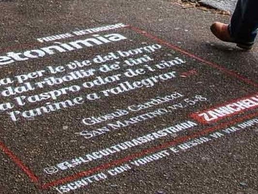 I graffiti urbani di Zanichelli, per non sbagliare a parlare