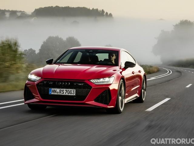 Audi - Al volante della RS7 Sportback