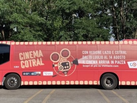 Cinemacotral: la rassegna on the road della Regione Lazio