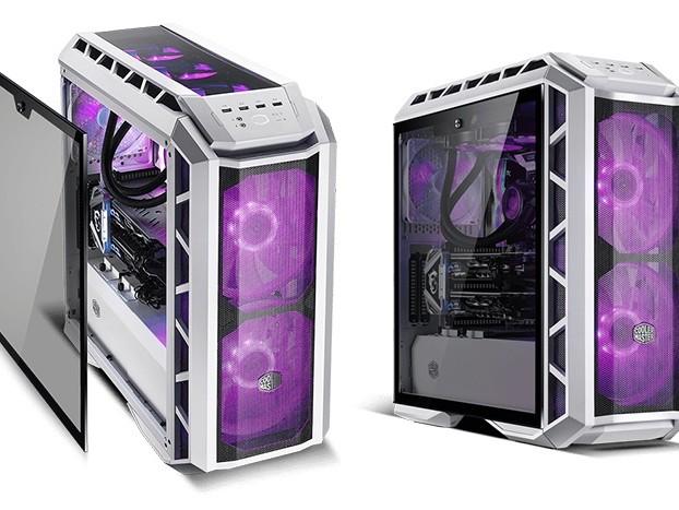 Cooler Master presenta il Master Case H500P Mesh White