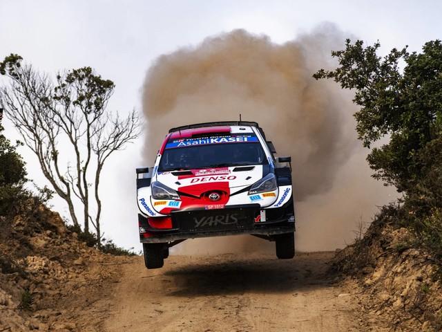 Mondiale Rally - Doppietta Toyota al Rally Italia Sardegna