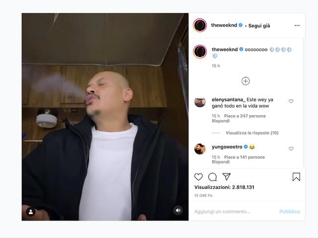 Il tiktoker di 'Dreams' ci riprova con 'Blinding Lights' di The Weeknd