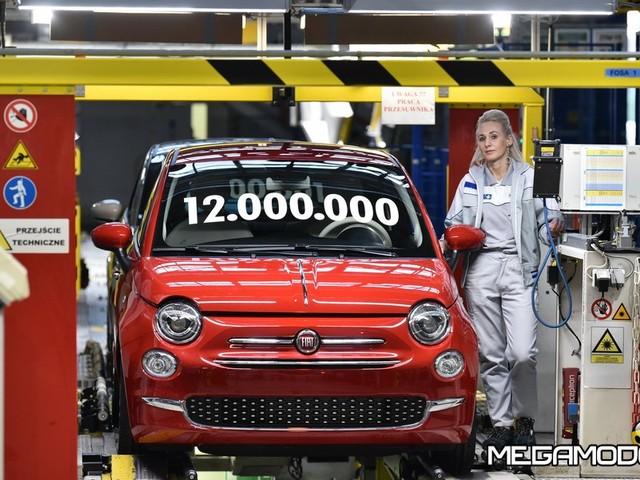 Nello stabilimento Fiat Chrysler Automobiles di Tychy è stata prodotta la dodici milionesima vettura