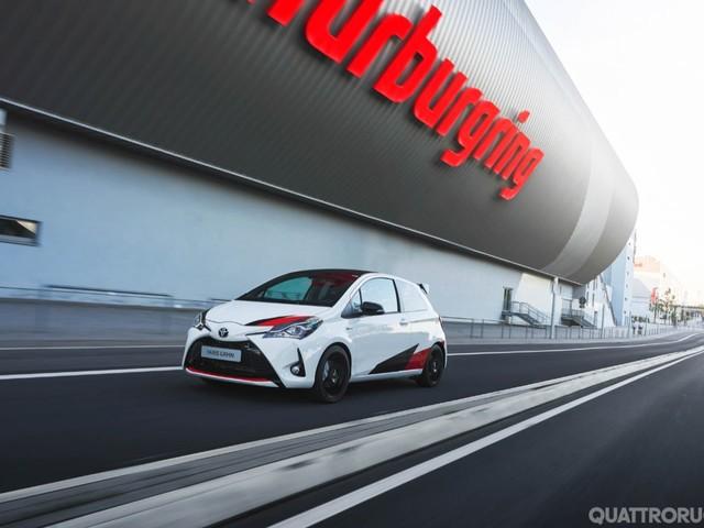 Toyota - La Yaris GRMN e le altre novità di Francoforte