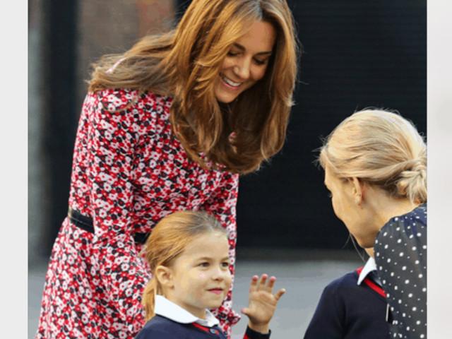 Kate Middleton incinta, a rivelarlo la piccola Charlotte (Foto)