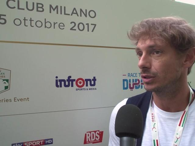 74° OPEN D'ITALIA – DAY 2: Giorgio Pasotti