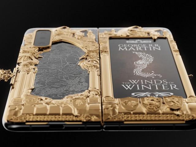 Non potete definirvi veri fan di Game of Thrones se non comprate questa interessante versione di Galaxy Fold (foto e video)