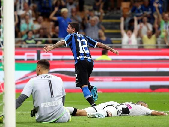 Inter, una notte da capolista grazie al pareggio della Juve batte l'Udinese e vola