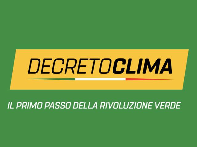 Approvato il decreto Clima, un pannicello caldo contro la crisi climatica in corso