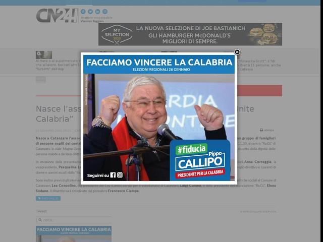 """Nasce l'associazione """"PerLe Demenze. Famiglie Unite Calabria"""""""