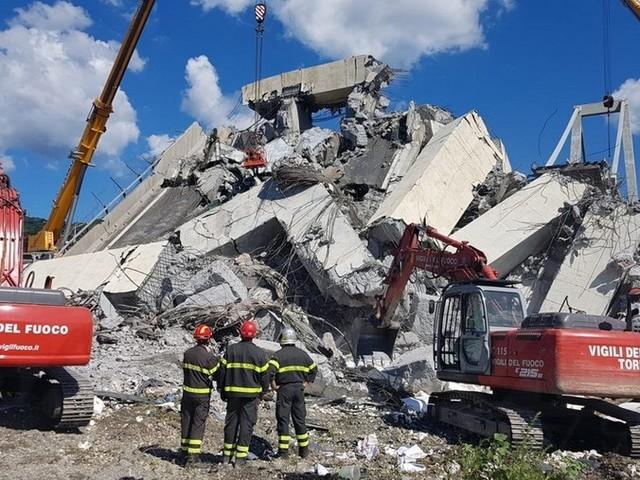 Genova: continua anche per i Vigili del Fuoco della nostra provincia il lavoro sul Polcevera (Foto)