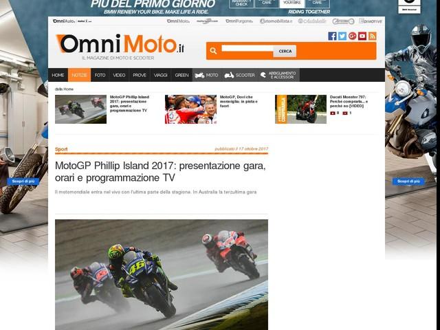 MotoGP Phillip Island 2017: presentazione gara, orari e programmazione TV
