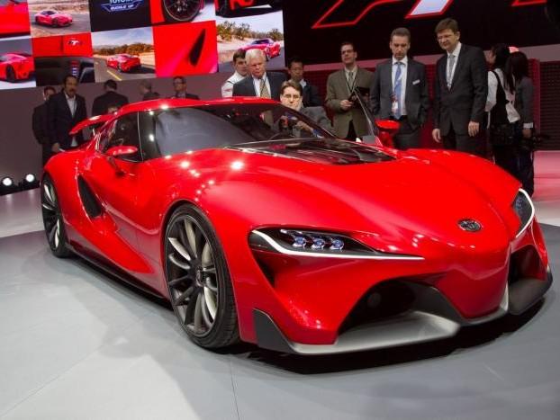 Toyota Supra Concept: il ritorno è vicino