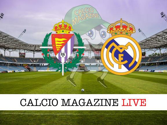 Valladolid – Real Madrid: dove vedere la diretta live e risultato