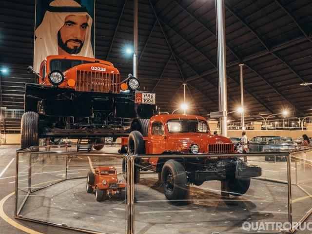 Emirates National Auto Museum - Un museo delle auto nel deserto FOTO GALLERY