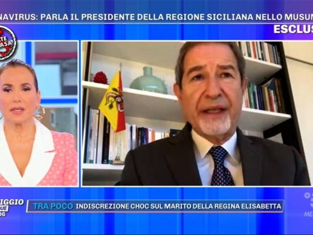 """Coronavirus, Musumeci: """"In Sicilia misure inefficienti, combattiamo la guerra con le fionde"""""""