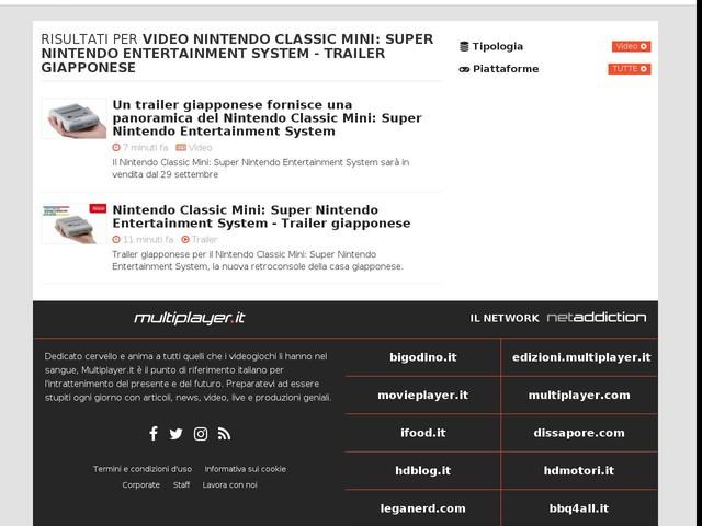 Nintendo Classic Mini: Super Nintendo Entertainment System - Trailer giapponese