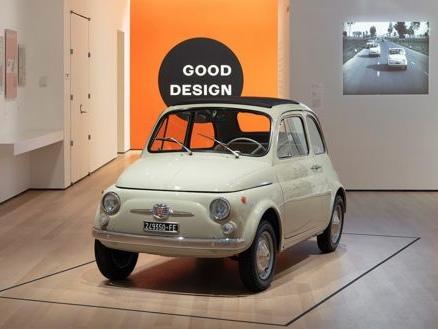 Fiat 500, mito italiano al MoMa di New York