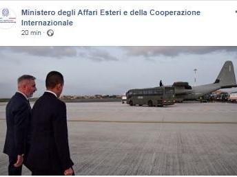 Attentato Iraq, a Ciampino C130 con 5 militari italiani feriti