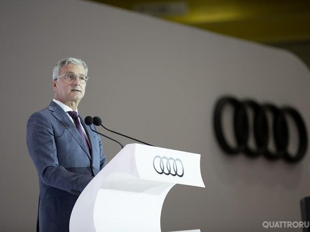 Audi - Rupert Stadler svela i piani della Casa