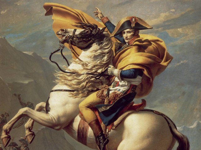 """Napoleone sul """"precipizio degli anni"""": l'esilio diventa romanzo storico"""