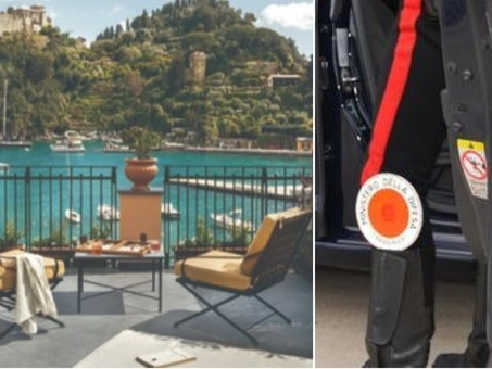 Turista americano bloccato sul balcone dell'hotel, tenta di scavalcare ma precipita e muore: choc a Portofino