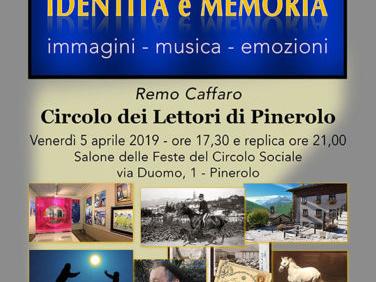 Pinerolo. Il 5 aprile appuntamento con la multivisione di Remo Caffaro