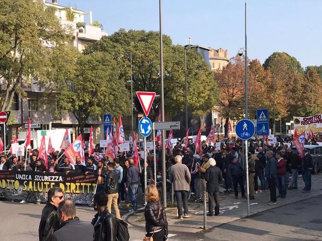 Sciopero Cobas, disagi contenuti in centro a Padova