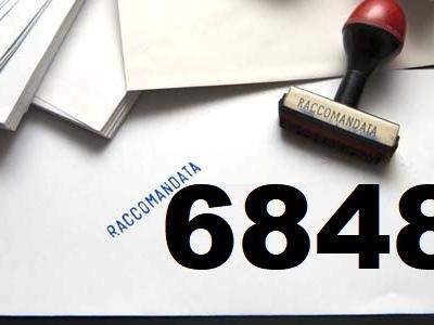 Raccomandata market 6848