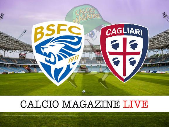 Brescia – Cagliari: cronaca diretta live, risultato in tempo reale