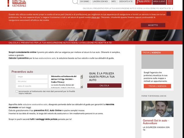 Assicurazione auto: calcola il Preventivo Polizza online | Generali