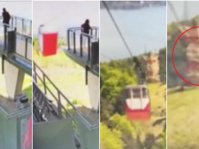 Strage funivia, il video dell'incidente: la cabina torna indietro e cade nel vuoto
