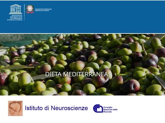 I benefici sui disturbi cognitivi della Dieta Mediterranea