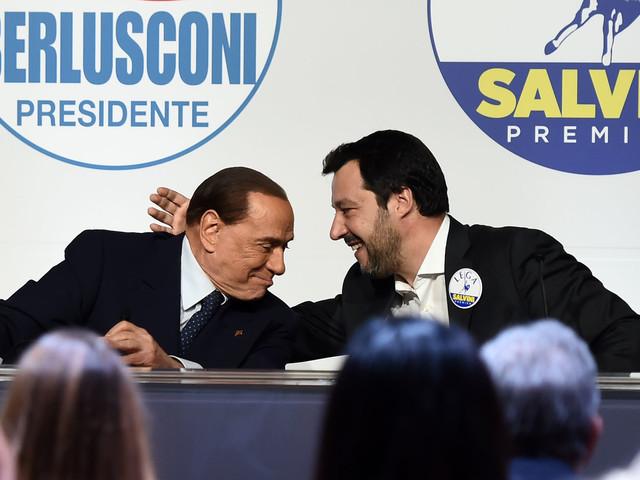 """Salvini ora chiarisce: """"L'appoggio di Berlusconi è prezioso"""""""