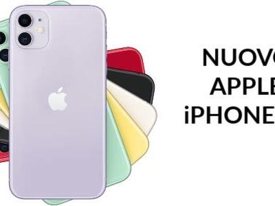 iPhone 11: Apple svela prezzo, caratteristiche e data di uscita