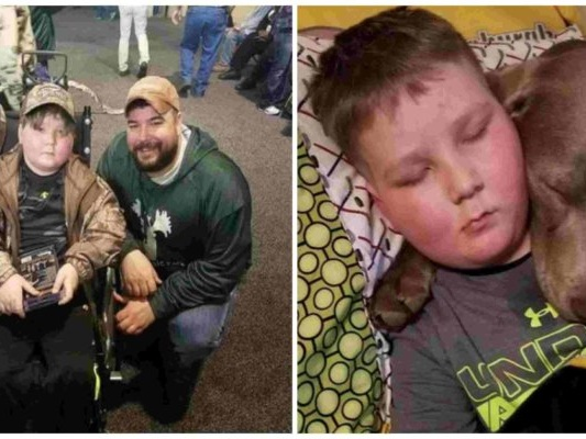 La promessa del papà al bambino malato di cancro terminale