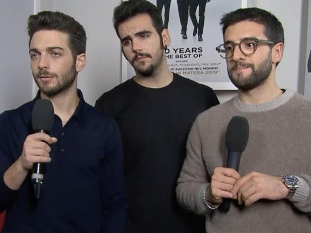 """Intervista a Il Volo per i 10 anni di carriera: """"Ben vengano le critiche, ci fanno crescere"""" (video)"""