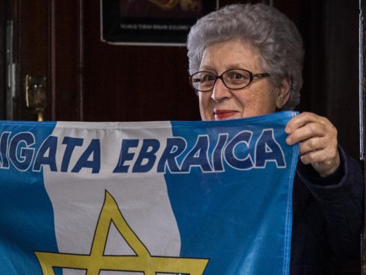 Anche quest'anno la comunità ebraica ha dovuto celebrare il 25 aprile da sola