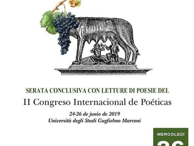 @TeatroArciliuto – Mercoledì 26 Giugno 2019 l'evento conclusivo del Congresso POÉTICAS